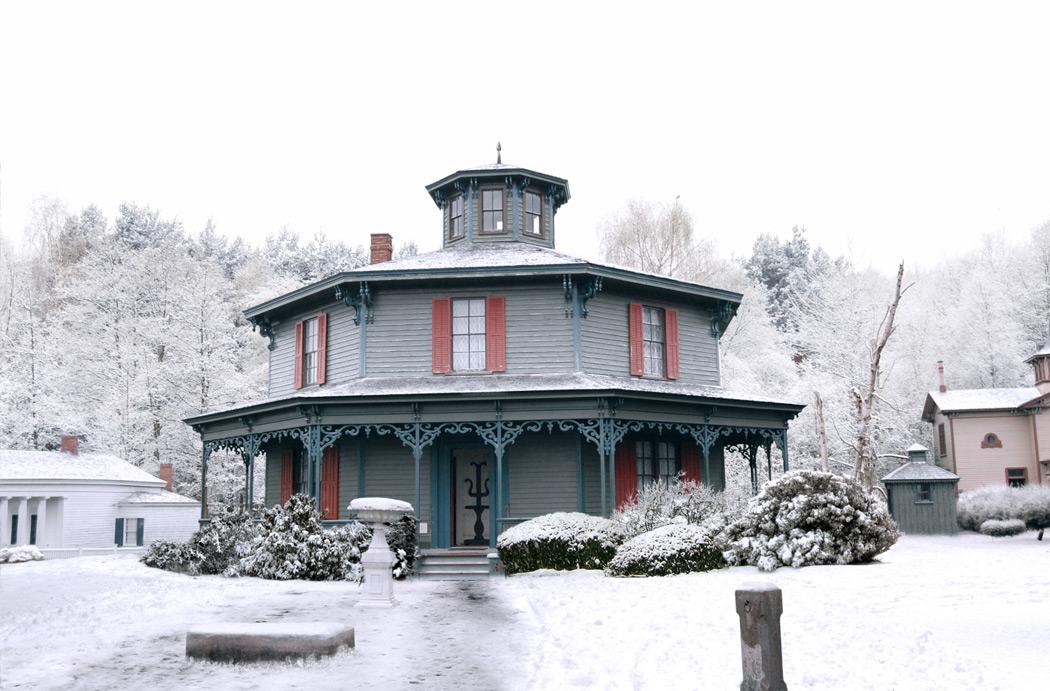 Maison sous la neige - Matte Painting