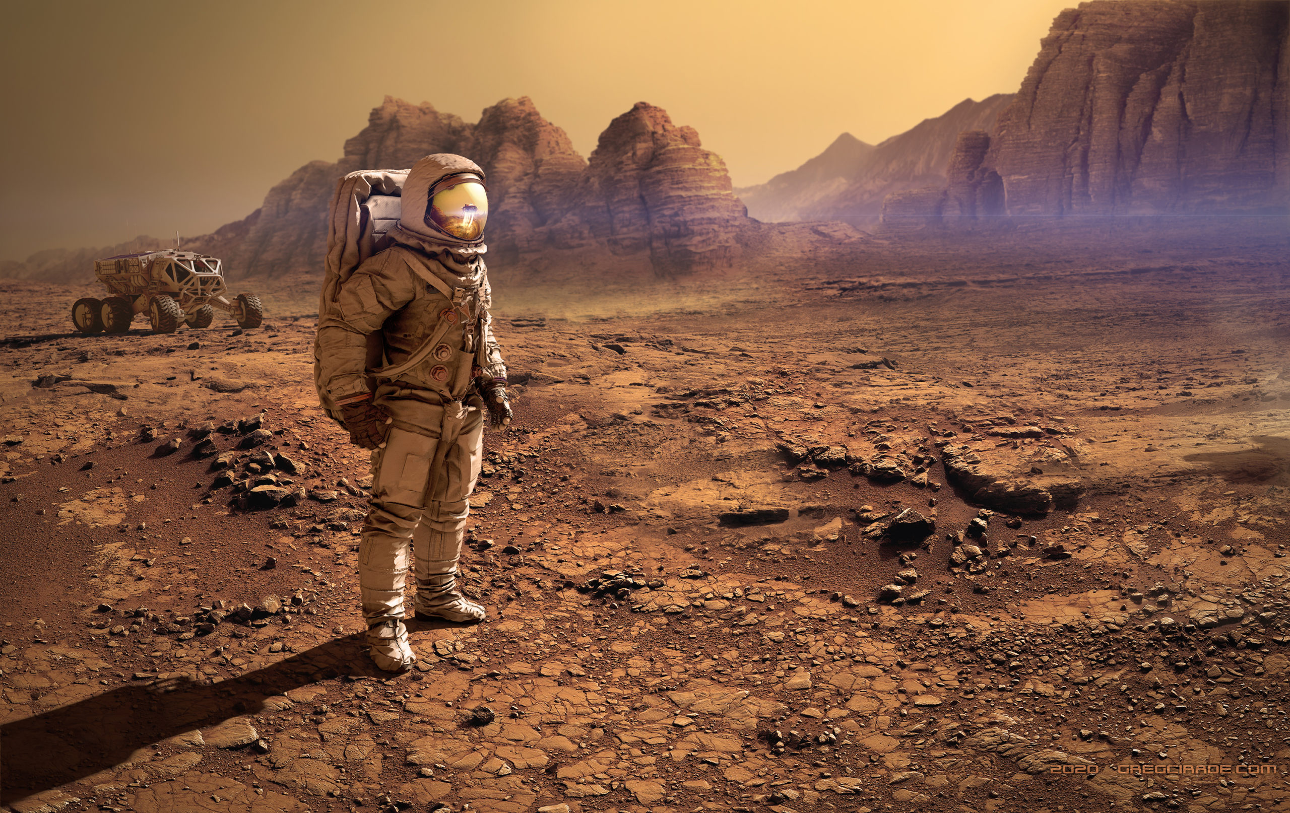 Mars - Matte Painting